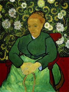 La berceuse (di Vincent van Gogh) per Edvige