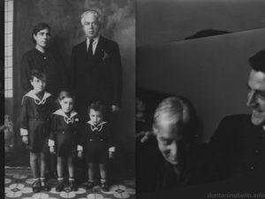 Tonino Bello ...con mamma Maria, papà Tommaso, e i due fratellini, Trifone e Marcello.