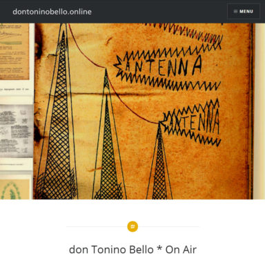 Logo ufficiale per... don Tonino bello * On Air